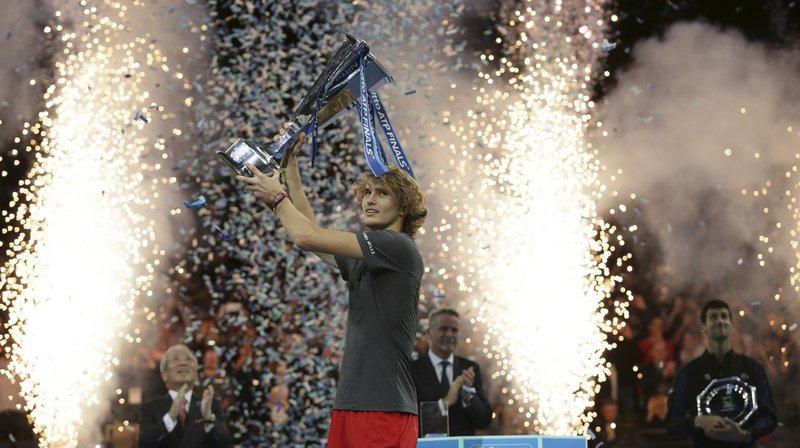 Alexander Zverev s'est imposé face à Novak Djokovic en finale du Masters de Londres.