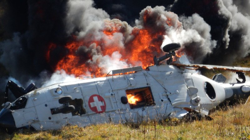 Crash d'un hélicoptère militaire au Gothard: l'équipage est innocenté