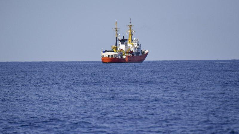Crise migratoire: pas de pavillon suisse pour l'Aquarius