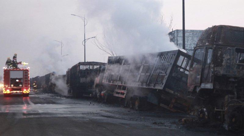 Chine: une explosion près d'une usine chimique fait au moins 22 morts