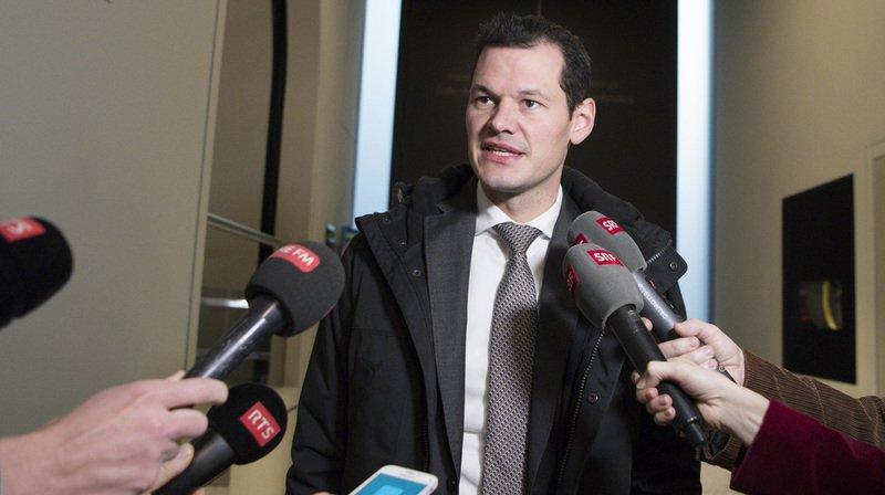 Le conseiller d'Etat genevois s'est finalement rendu à Berne ce mercredi après-midi pour honorer la convocation du PLR Suisse.