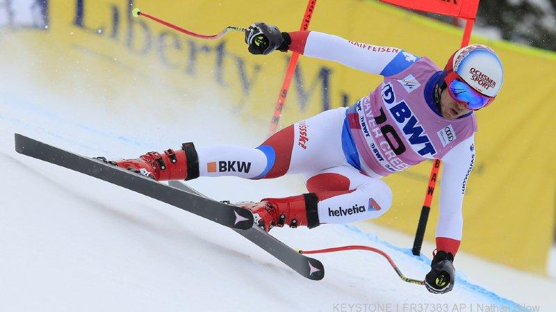 Ski alpin - coupe du monde: Mauro Caviezel remporte la deuxième place au Super G de Beaver Creek
