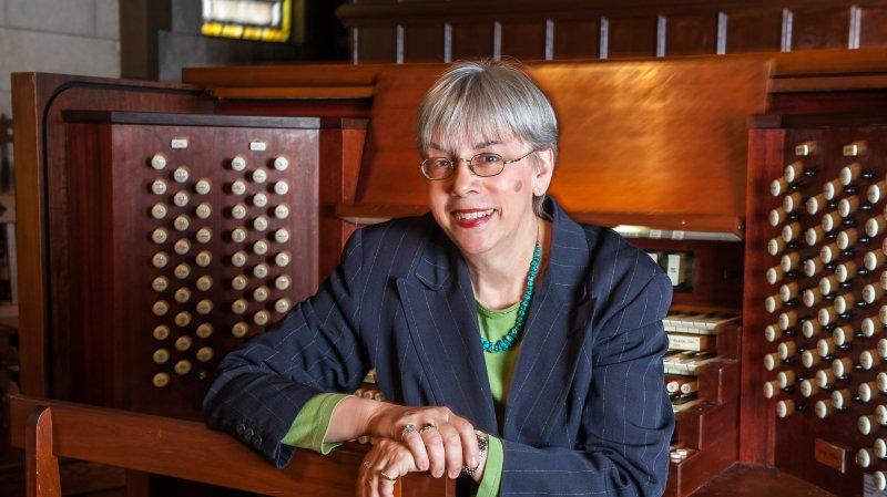 Gail Archer (USA) à l'orgue