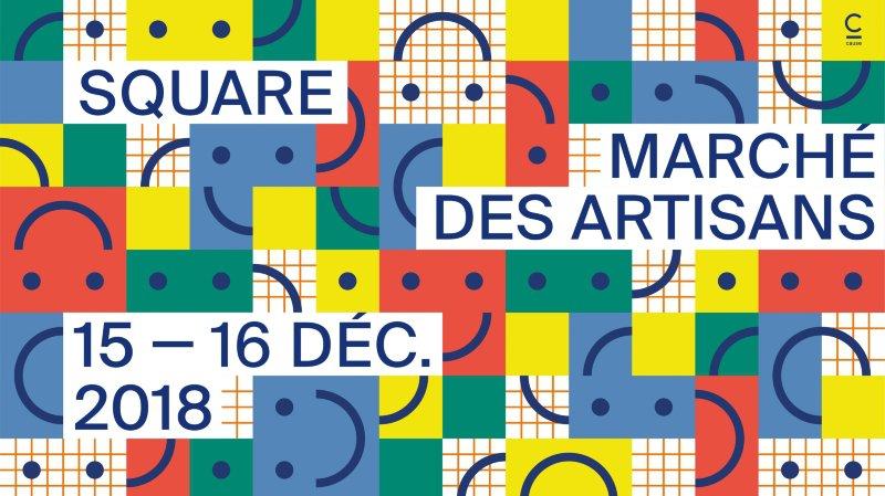 Square : Marché des artisans-créateurs