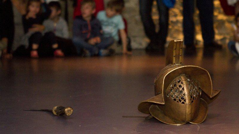 Le Musée romain invite le public à (re)découvrir l'Antiquité grâce à plusieurs activités différentes.
