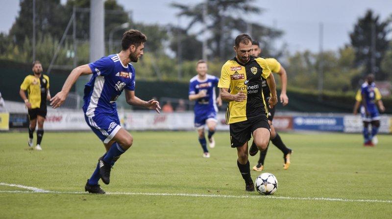 """Marco Delley et les """"jaune et noir"""" fessent Wohlen."""