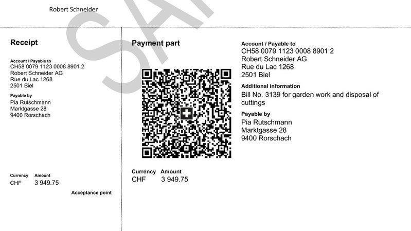 Le nouveau bulletin blanc, plus lisible, permettra de faire ses paiements en un clic.