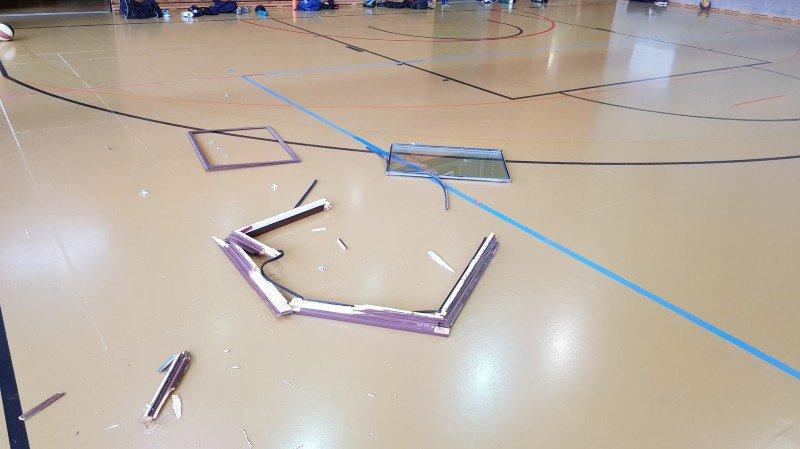 Les fenêtres des salles de sport de Nyon-Marens entièrement sécurisées