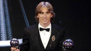 Ballon d'Or: les champions du monde français doublés par Modric?