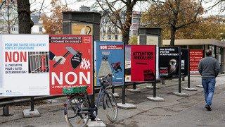 """Votations fédérales: la """"claque"""" à l'UDC n'est pas un """"chèque en blanc"""""""