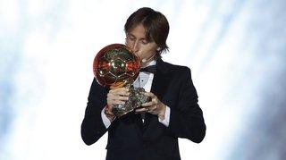 Football - Ballon d'Or: le Croate Luka Modric met fin à 10 ans d'hégémonie du duo Messi-Ronaldo