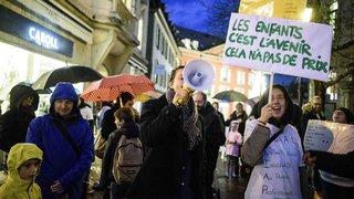 Accueil de jour: nouvelles mobilisations sur La Côte
