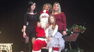Marché de Noël de Saint-Cergue: telle mère, telles filles!