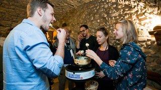 Tartegnin: la fondue du champion du monde 2017 commercialisée