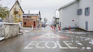 La réouverture de la rue du Village divise Arzier