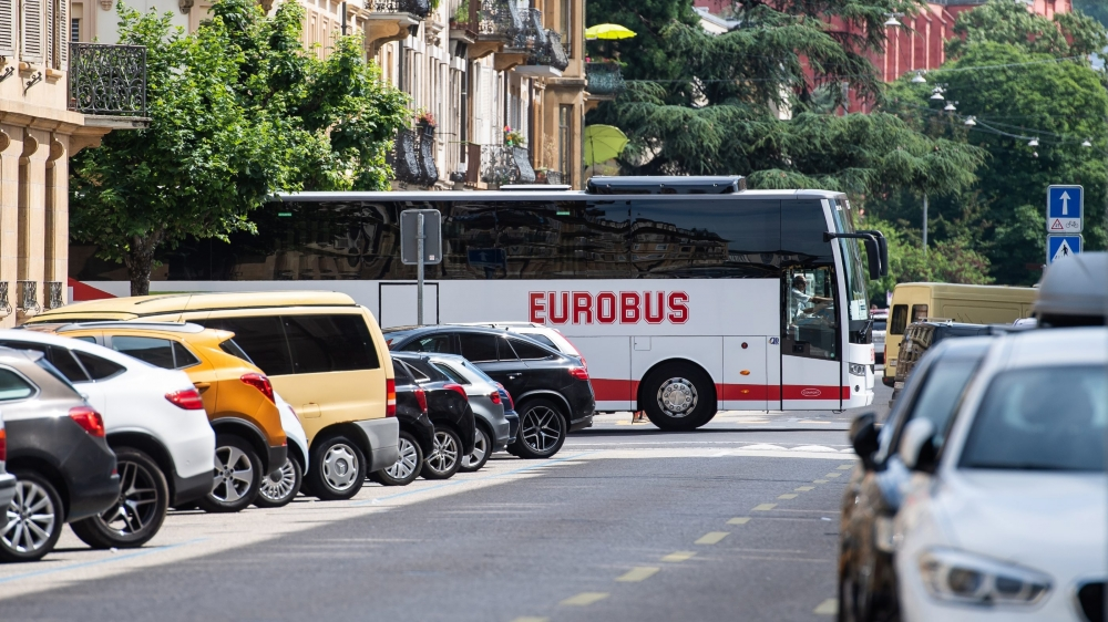 Eurobus à Neuchâtel.