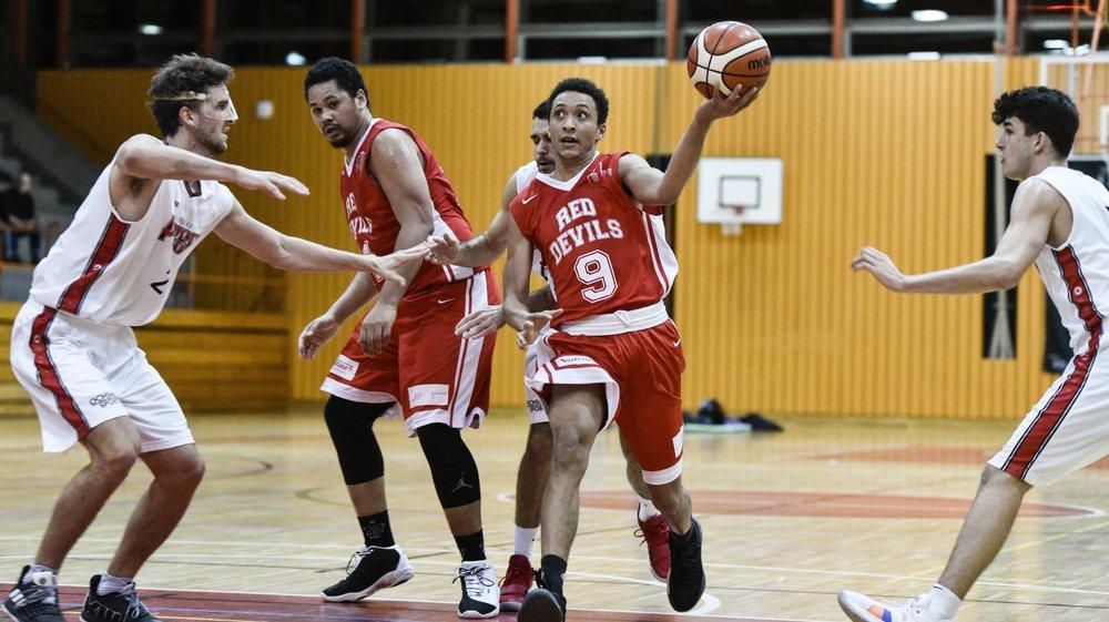 Ismail Conus et les Morgiens sont passés à côté de leur première période, conclue sur le score de 62-27.