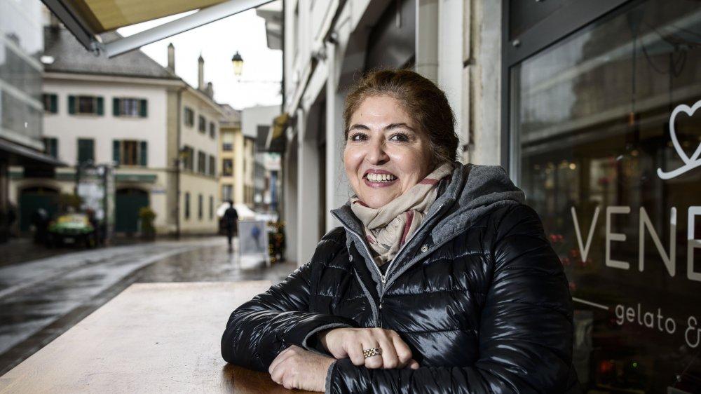 Marisa Benedetto, présidente de la SIC, pilote l'organisation du marché de Noël depuis trois ans.