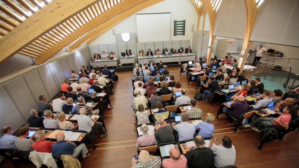 Le Conseil communal a accepté pour la deuxième année de suite un budget avec plus de 8 millions de francs de déficit.