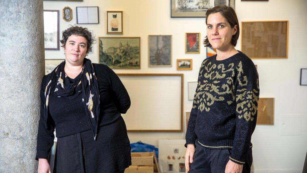Jessica Vaucher et Stephanie Pfister ont créé la maison d'édition Ripopée en 2008.