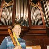 Flûte à bec et orgue au Temple d'Aubonne