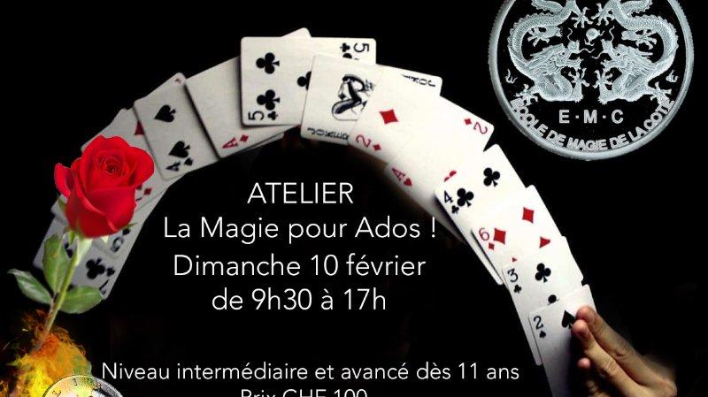 """Atelier de magie """"La magie pour Ados"""""""