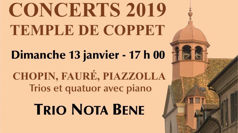 Chopin, Fauré, Piazzola