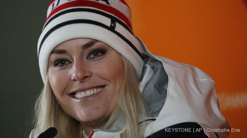Ski alpin - coupe du monde: Lindsey Vonn renonce à venir à Saint-Moritz
