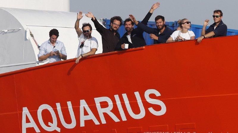 L'Aquarius a sauvé la vie de dizaines de milliers de migrants en perdition sur la Méditerranée (archives).