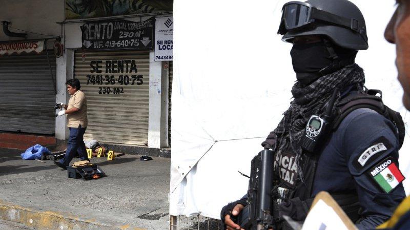 Acapulco ainsi que le reste de l'Etat du Guerrero sont en proie à la violence des gangs. (illustration)
