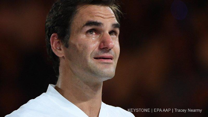 Quand est-ce que Roger Federer arrêtera de regarder vers le haut?