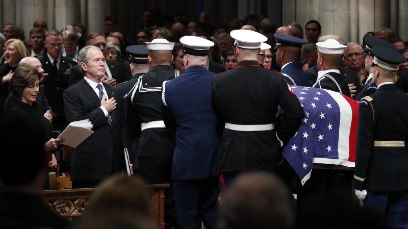 Après les obsèques à Washington, la dépouille de George H.W. Bush sera ramenée dans son Texas d'adoption.