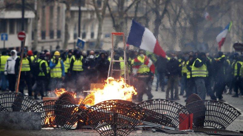 "France - ""Gilets jaunes"" : un total de 1082 interpellations samedi à Paris"