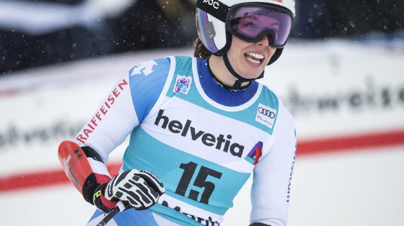 Ski alpin: perturbée par la chute de son frère, Michelle Gisin ne skiera pas à Courchevel