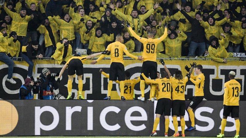 Football – Ligue des champions: Young Boys sort la tête haute en battant la Juventus de Turin