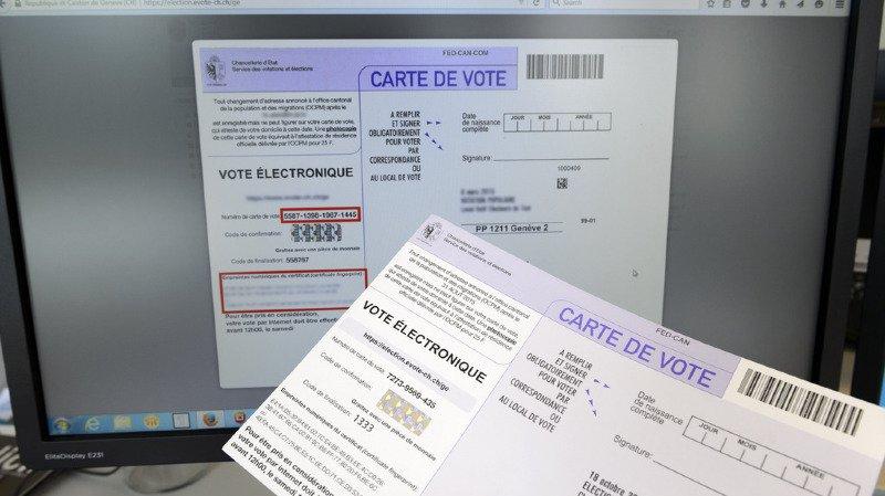 L'e-voting pourrait devenir le troisième canal de vote en Suisse