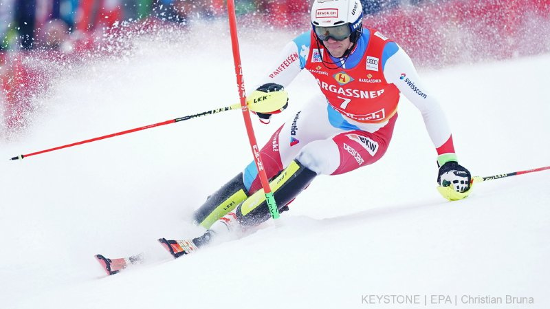 Ski alpin: Ramon Zenhäusern 5e de la première manche du slalom de Saalbach, Hirscher en démonstration