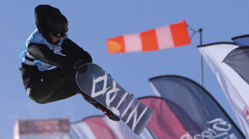 Snowboard: première victoire de Jan Scherrer sur le half-pipe de Taizicheng, retour raté pour I-Pod, qui chute