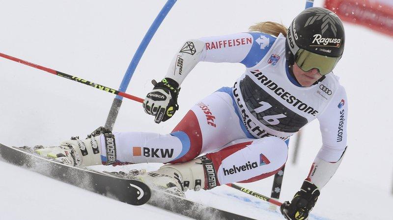 Ski alpin: l'Américaine Mikaela Shiffrin remporte le géant de Courchevel, les Suissesses arrivent loin derrière