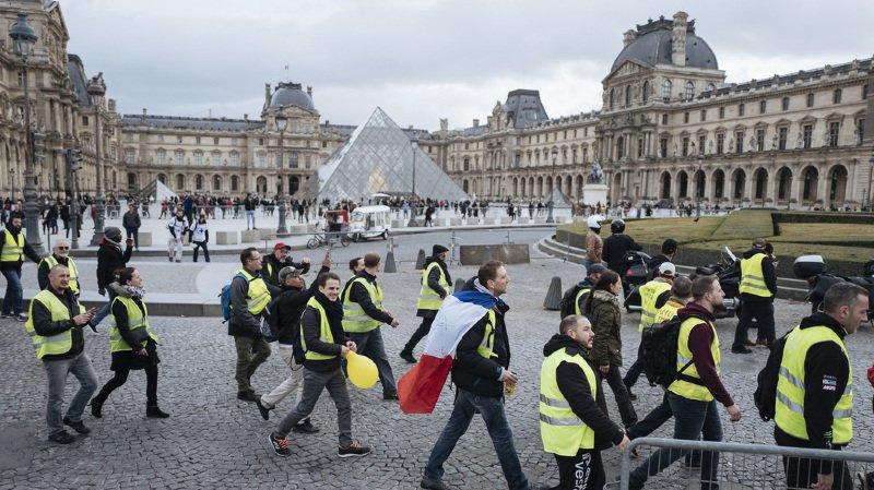 France: avec moins de 25'000 manifestants ce samedi, le mouvement des gilets jaunes s'essouffle