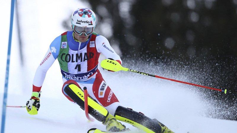 Ski alpin: Daniel Yule remporte le slalom de Madonna di Campiglio