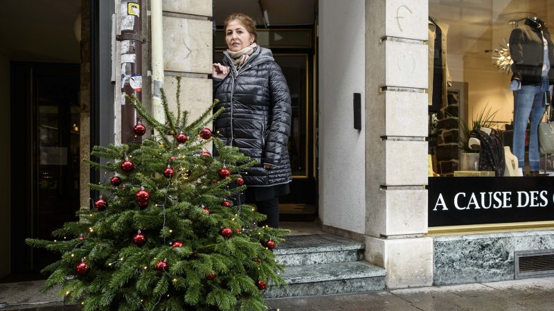 Nyon: «Chers voleurs de sapins, nous vous souhaitons un joyeux Noël…»
