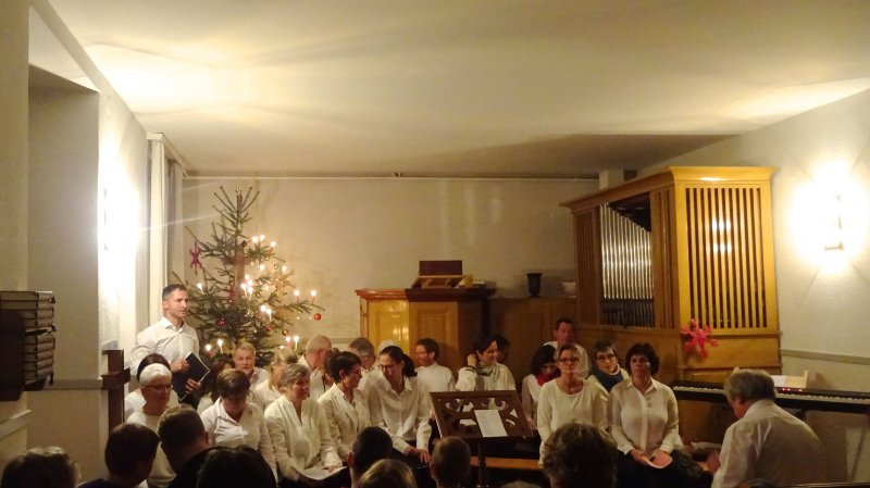 Concert denens gospel avec le vufflens jazz band