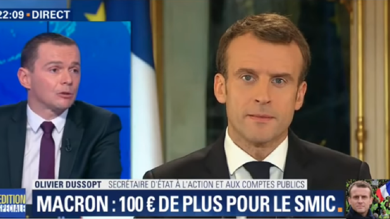 Gilets jaunes: les mesures annoncées par Macron coûteront à l'Etat entre «8 et 10milliards d'euros»