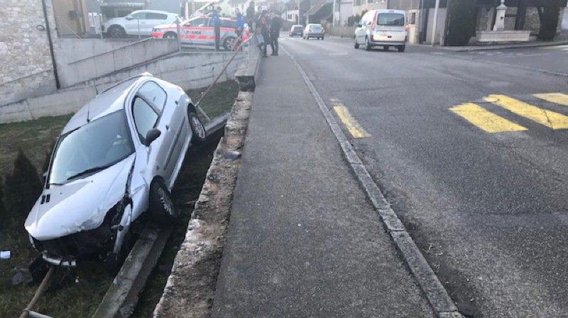 Jura: un automobiliste ivre fait un accident puis prend la fuite