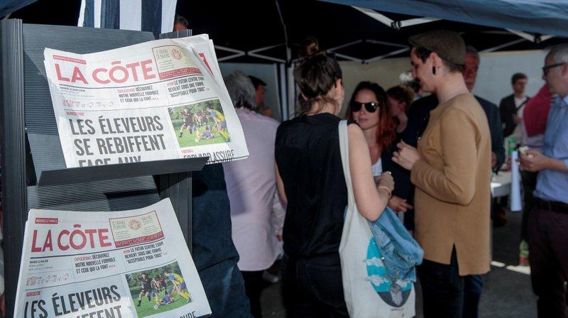 Treize médias locaux vaudois, dont «La Côte», font front commun