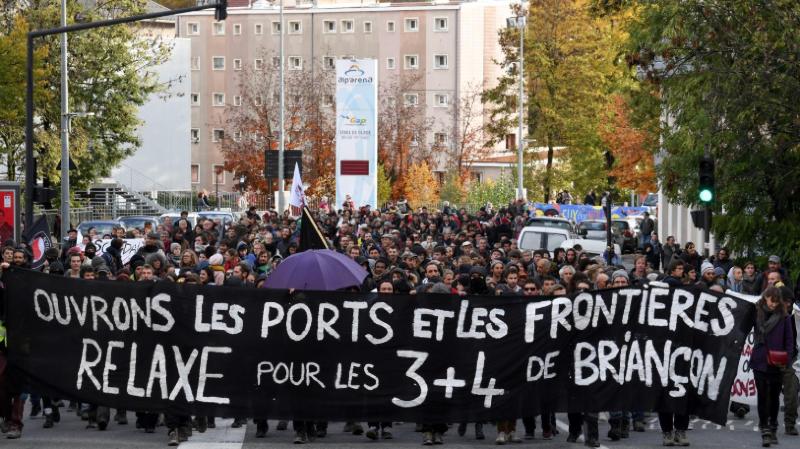 France: deux militants genevois pro-migrants écopent du sursis