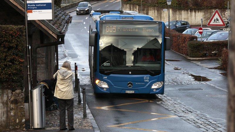 Pourquoi le bus 805 fait une pause à Prangins