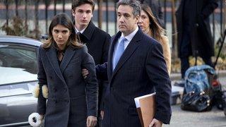 Etats-Unis: l'ex-avocat de Trump, Michael Cohen, condamné à trois ans de prison