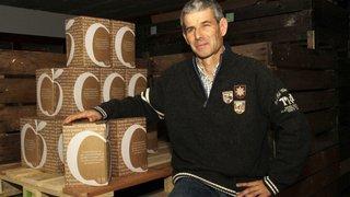 Avec son jus de pomme, Alain Brocher est désigné meilleur producteur romand